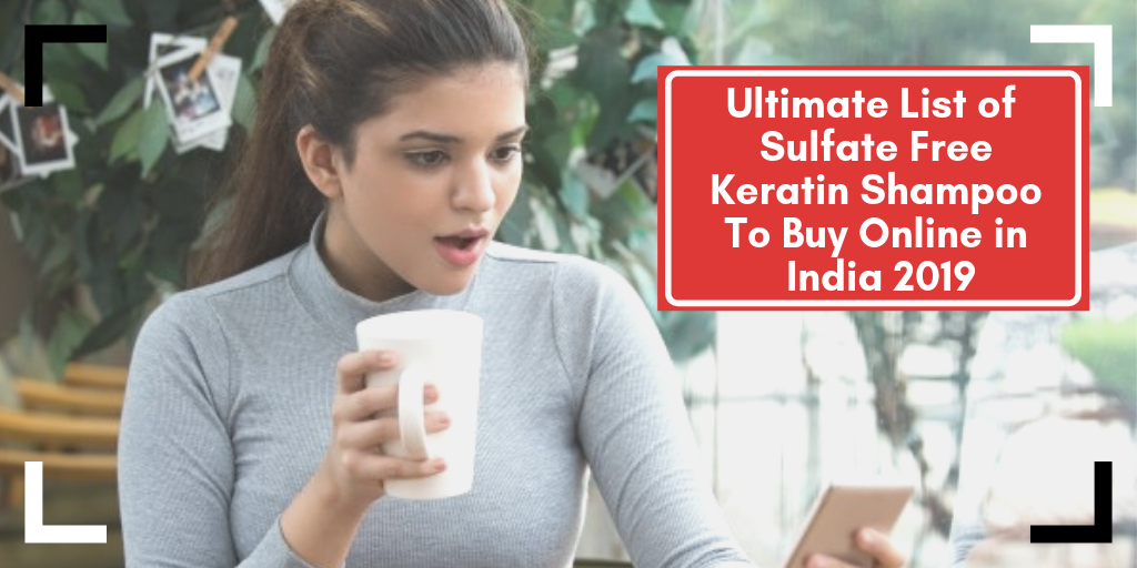 Sulfate Free Keratin Shampoo To Buy Online in India