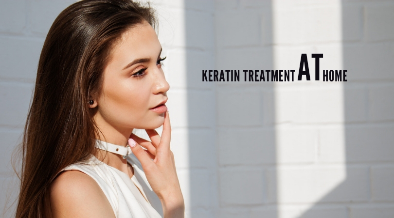how to do keratin treatment at home naturally