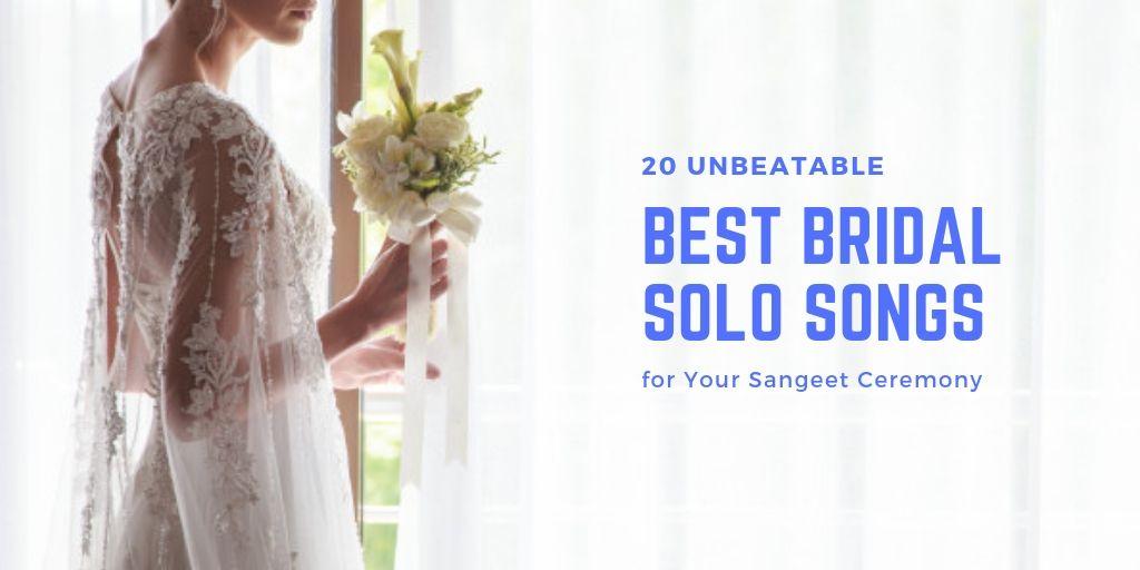 best bride wedding songs